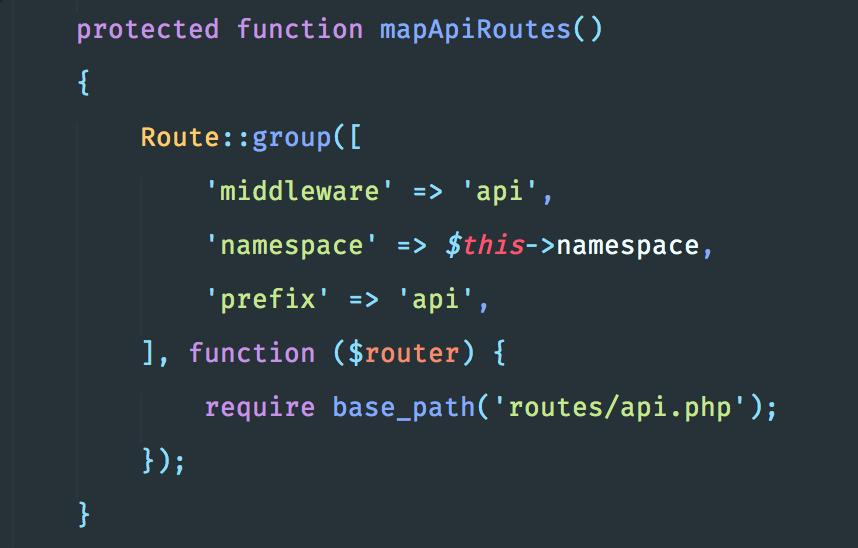"""تعريف مسارات الـ """"API"""" الخاصة بالتطبيق"""